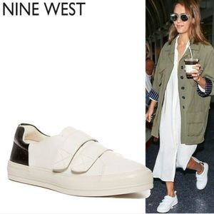 Nine West Oleandro Velcro Sneakers